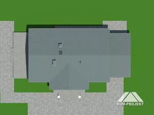 Działka projektu Chmielów 3 dw z garażem