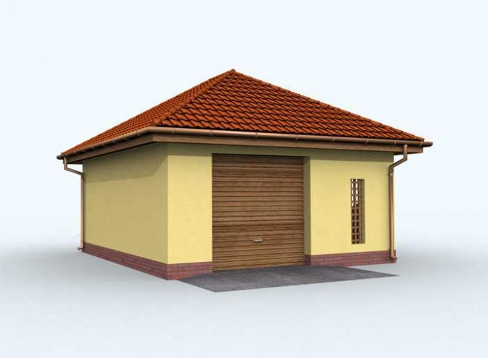 G102 garaż jednostanowiskowy