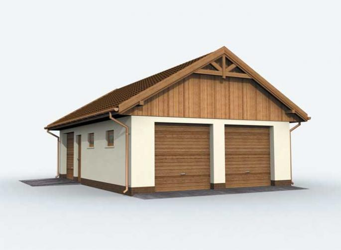 G130 garaż trzystanowiskowy